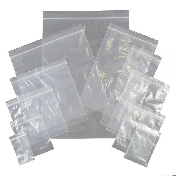 Transparent LDPE Self Seal Poly Bags